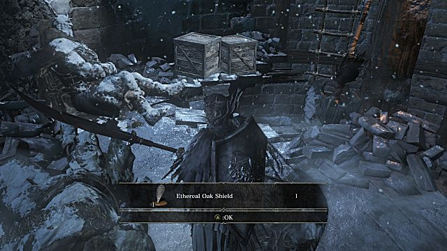 Ethereal Oak Shield Dark Souls 3 Ashes of Ariandel Guide How to find all new Weapons Armor and Spells