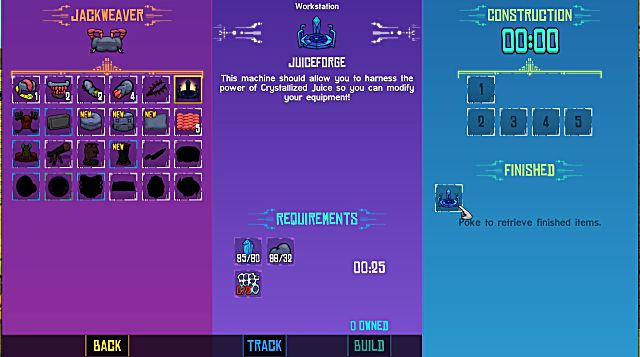 Crashlands Juicemancy Quest Guide How to get the Juiceforge crafting requirements