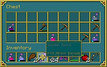 Minecraft battle inventory