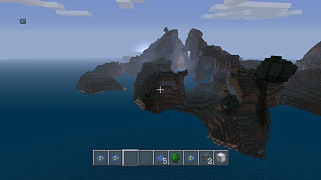 Minecraft seed all biomes mushroom island