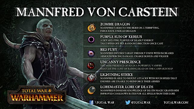 Total War: Warhammer vampire counts