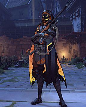 overwatch ana Halloween skin