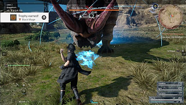final fantasy xv battle system
