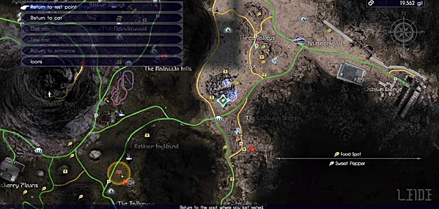 final fantasy xv how to find cactuars