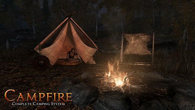 Campfire mod image