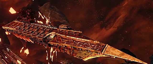 Battlefleet Gothic: Armada carnage
