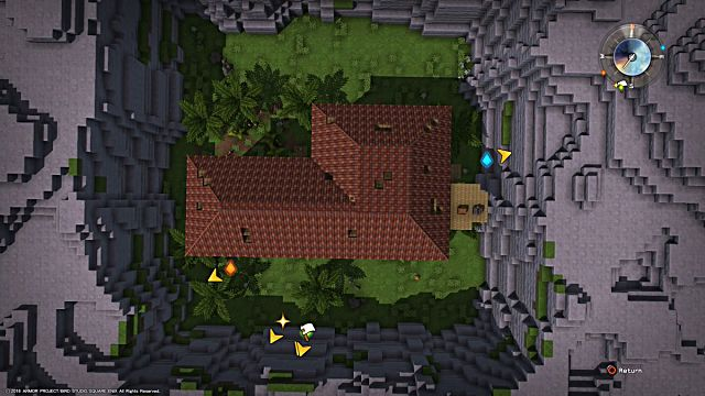 Dragon Quest Builders Challenges Guide Walkthrough Chapter 2 Ruined Roof