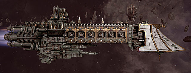 Battlefleet Gothic: Armada dauntless mk2