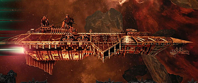 Battlefleet Gothic: Armada devastation