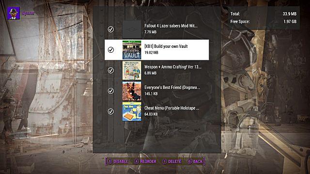 Fallout 4 mod load order