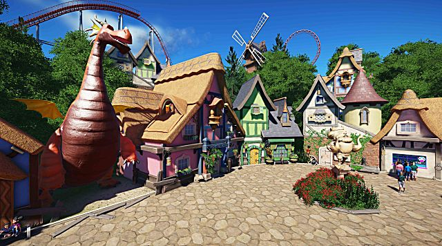 Planet Coaster Beginner's Guide Park Management Staff Scenery and Trashcans
