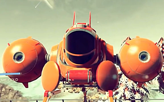 No Man's Sky explorer ship