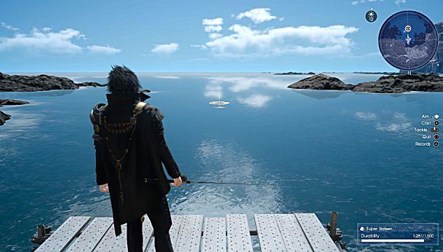 final fantasy xv fishing