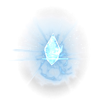 an ice crystal representing ice magic and ice spells in The Elder Scrolls: Skyrim Special Edition