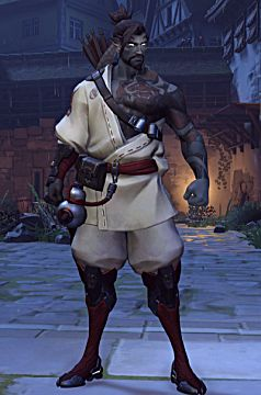 overwatch hanzo halloween skin