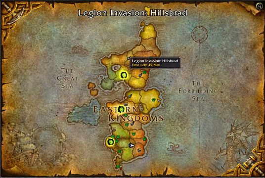 wow legion invasions