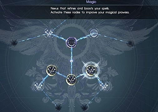 final fantasy xv magic ascension board