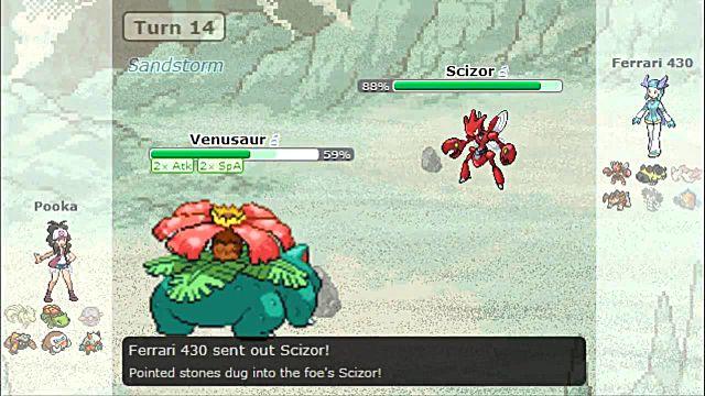 pokemon showdown battle