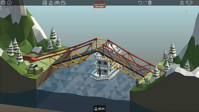 Poly Bridge hydraulics