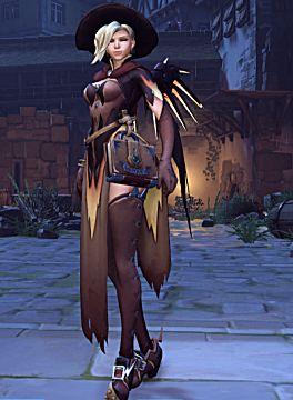 overwatch mercy halloween skin