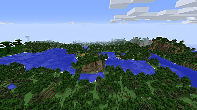 awesome minecraft seed villages all biomes