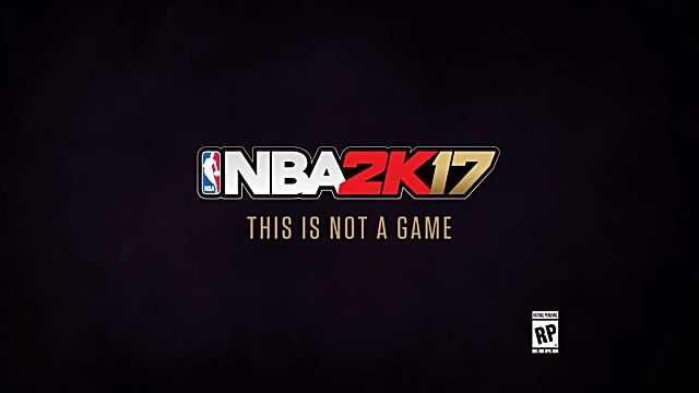 nba 2k17 this is not a game