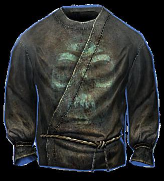 Necromancer robes from The Elder Scrolls: Skyrim Remastered