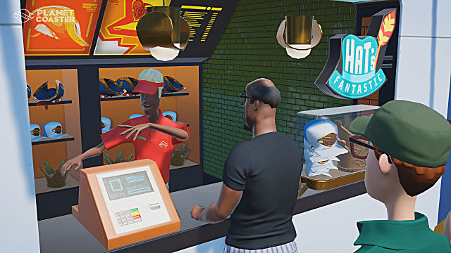 planet coaster beginner's guide park management shops and facilities