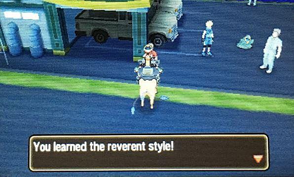 pokemon sun and moon reverent style