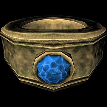 Azhidal's Ring of Necromancy from Skyrim