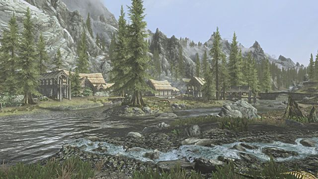 Riverwood from Skyrim