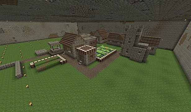 minecraft seed jungle biome snow biome underground village