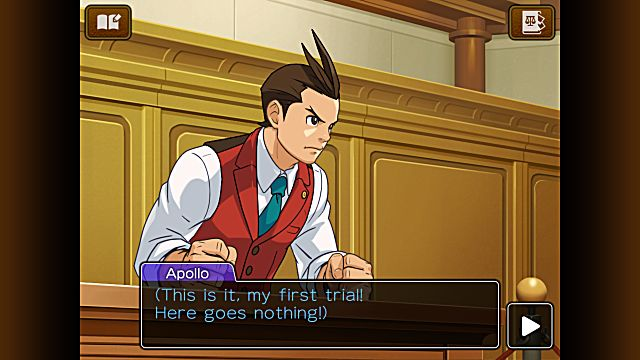 Apollo Justice Ace Attorney Episode 1 Turnabout Trump Part 1 Case Guide Android iOS