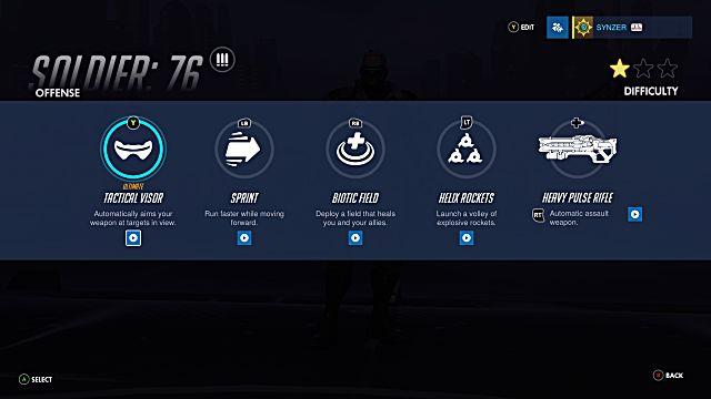 Overwatch Soldier 76 abilities