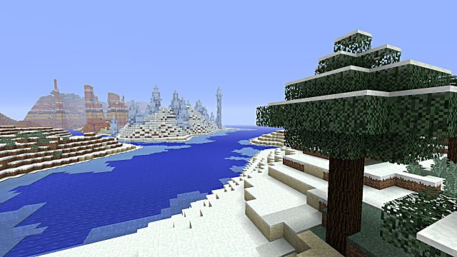 Minecraft seed all biomes all structures villages temples witch hut