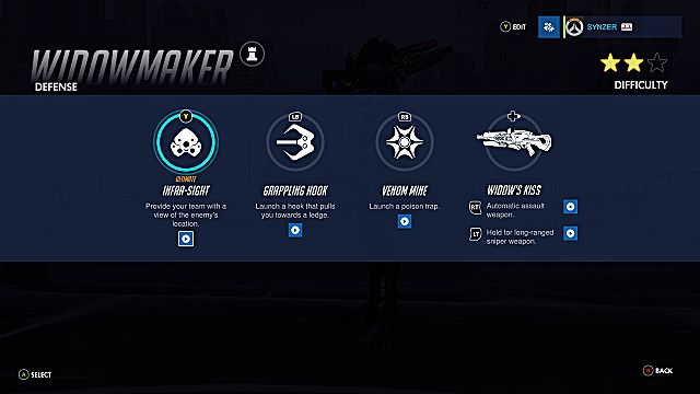 Overwatch Widowmaker abilities