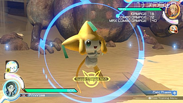 Lucario Pokken Tournament Competitive Character Guide Jirachi