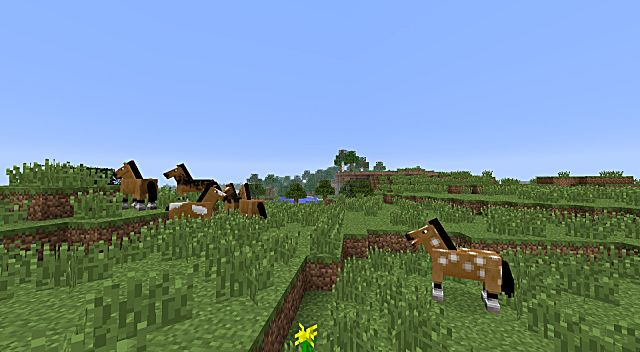 minecraft how to ride a horse mac