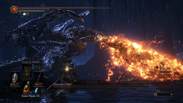 Dark Souls 3 Guide How to Beat Darkeater Midir and Join the Spears of the Church covenant