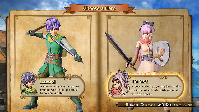 Dragon Quest Heroes 2 Review Main Characters