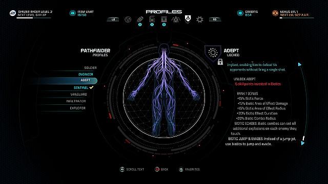 mass effect andromeda adept profile