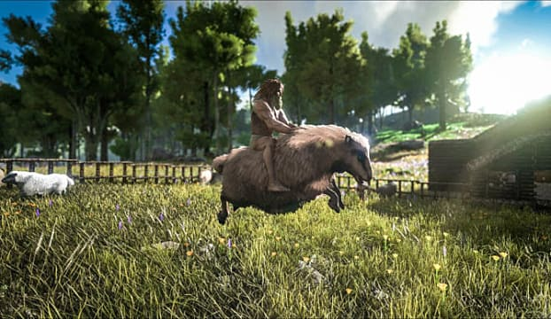 ARK: Survival Evolved Guide How to find and tame Ovis Sheep location