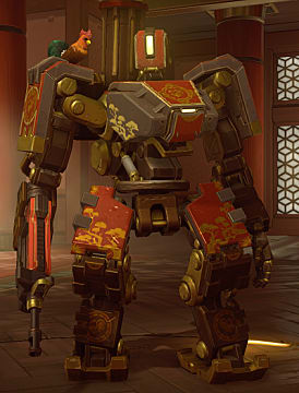 bastion year of the rooster skin