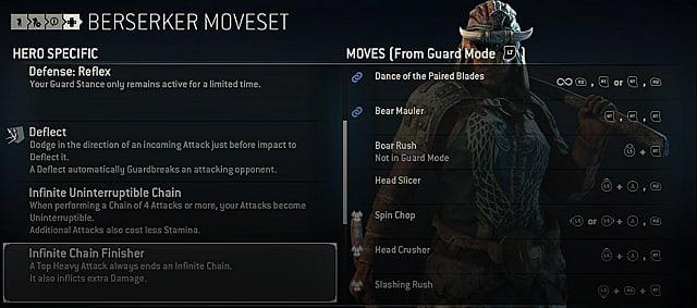 for honor berserker moves