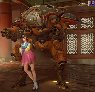 d.va year of the rooster skin