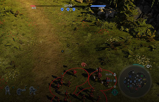 Halo Wars 2 game map