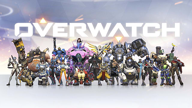 overwatch, team, characters