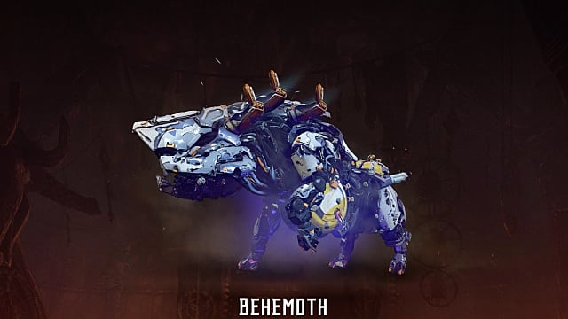 horizon zero dawn, combat, bow, behemoth