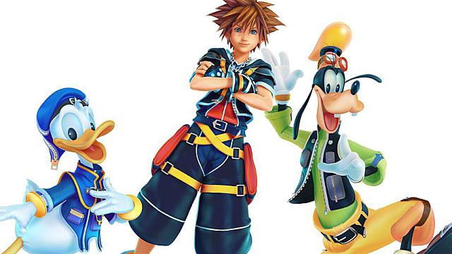 Kingdom Hearts, goofy, daffy duck