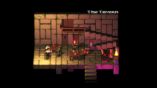 Legend of Dungeon, tavern